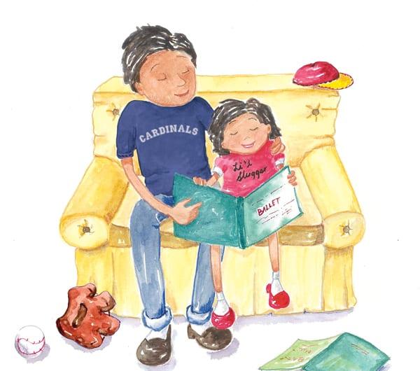 Let's read! It's essential to your children's success
