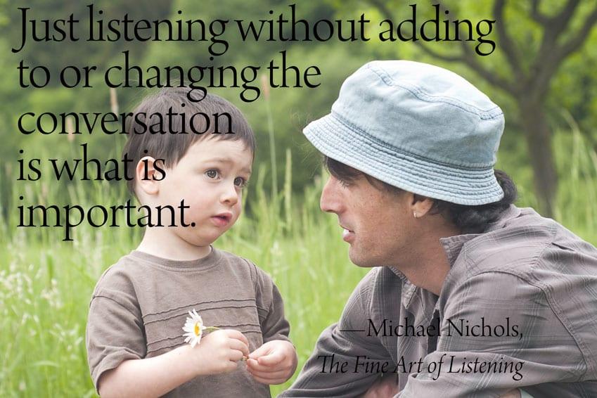 Listening to Samuel and Noah